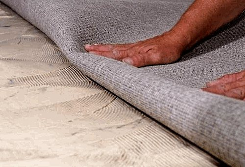 Укладка ковролина своими руками.