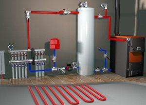 Совет по установке систем отопления для домов.