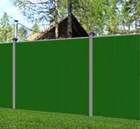 шумозащитный забор на даче