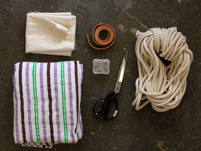 материалы и инструмент необходимый для гамака своими руками