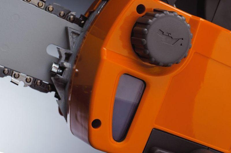 автоматическая смазка пильной цепи