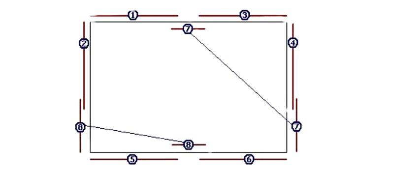 Как правильно клеить потолочный плинтус - последовательность