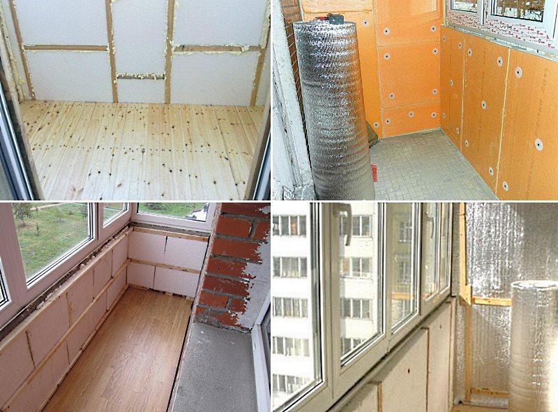 УРОК - Как утеплить лоджию и балкон своими руками