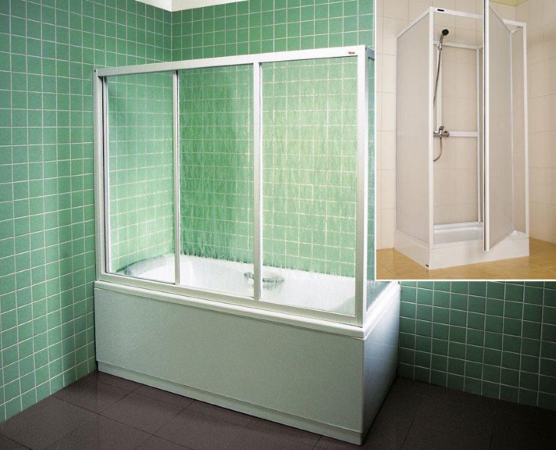 Как сделать кабинку в ванной своими 829