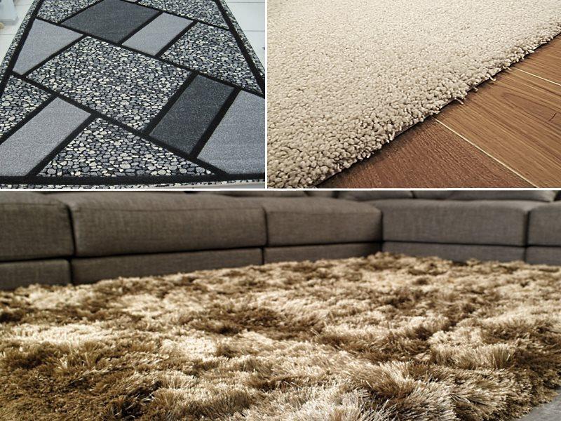 ковры из материалов искусственного происхождения