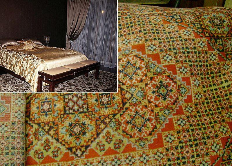 шерстяной ковер для спальни
