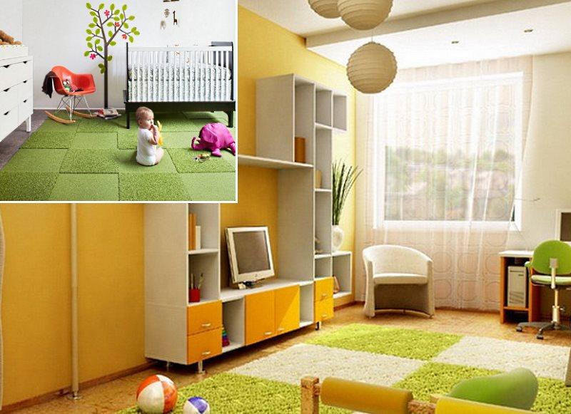 ковер для детской комнаты