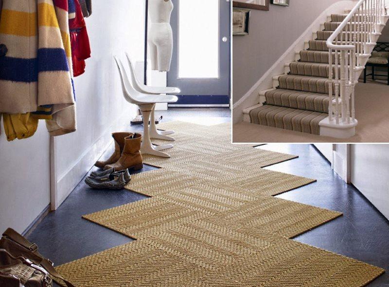 ковры для прихожей и лестниц