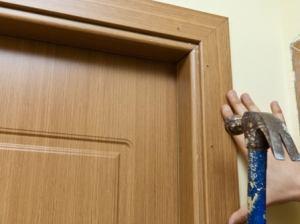 Установка доборов на двери своими руками фото