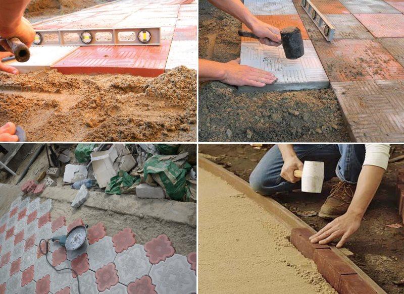 Как класть тротуарная плитка своими руками 31