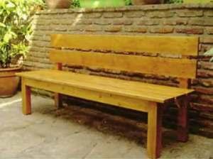 Как сделать скамейку