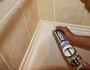 Все о герметиках для ванной.