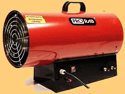 Воздушное отопление гаража своими руками