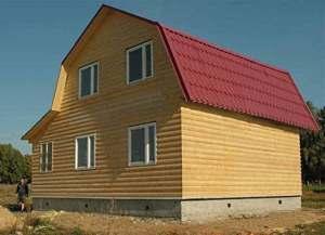 Как построить крышу мансардного типа: дизайн-проект +