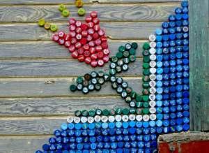 Поделки из пробок от пластиковых бутылок