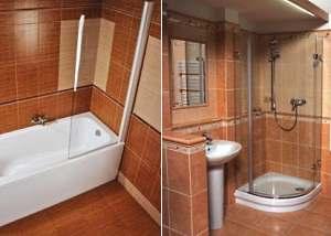 Что лучше ванна или душевая кабина.