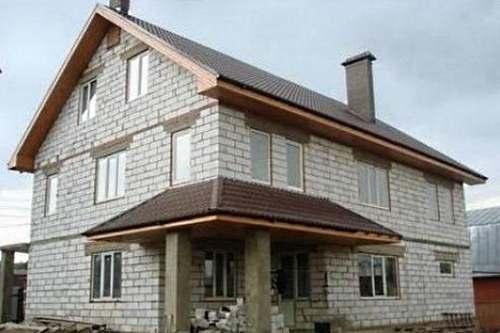 Сколько стоит построить дом из пеноблоков