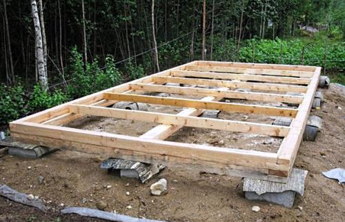 Хозблок для дачи — строим сами RMNT RU