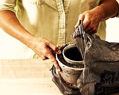 Этапы изготовления цветочного горшка своими руками этап 7