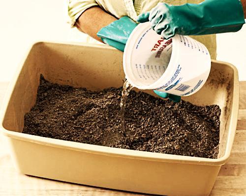 Этапы изготовления цветочного горшка своими руками этап 2