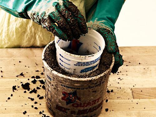 Этапы изготовления цветочного горшка своими руками этап 5
