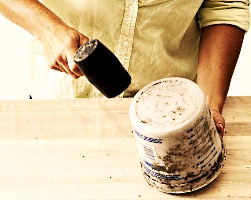 Этапы изготовления цветочного горшка своими руками этап 8