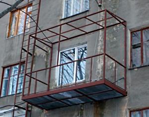 Как сделать балкон своими руками.