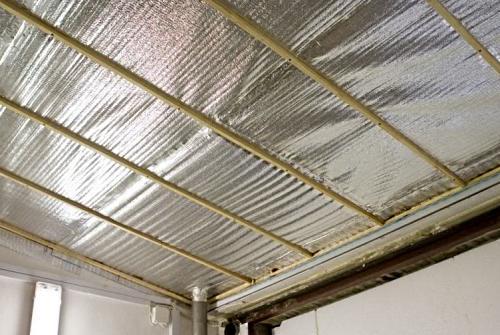 Как утеплить крышу гаража