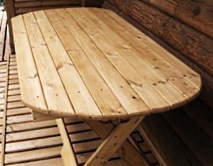 Как сделать деревянный стол своими руками?