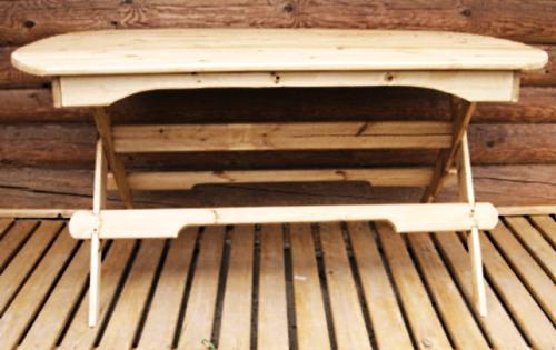 Как сделать деревянный стол своими руками