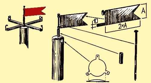 как сделать флюгер своими руками