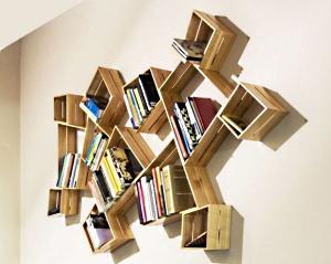 Как сделать книжные полки своими руками?