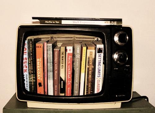 Полки из старого телевизора