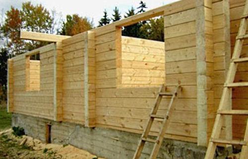 Как сэкономить при строительстве дома из бруса
