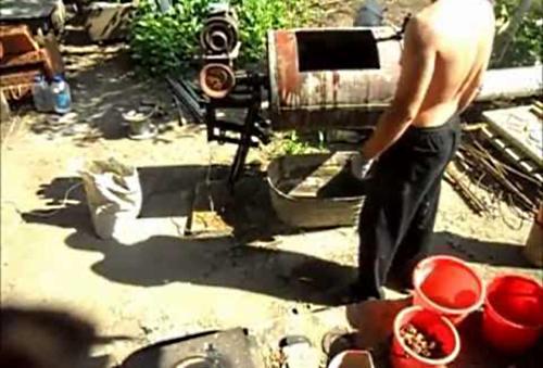 Двигатель бетономешалки