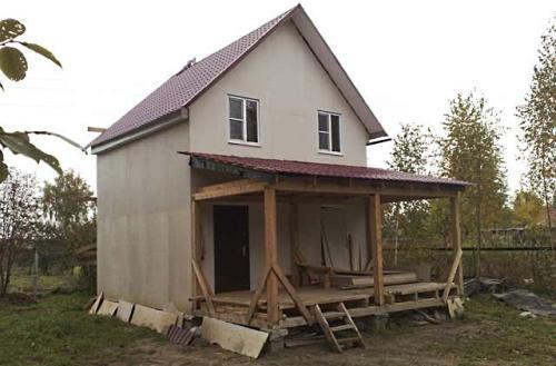 Крыша постройки