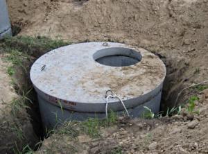 Выгребная яма из бетонных колец своими руками.