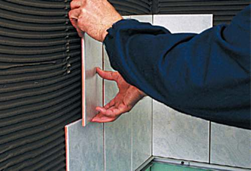 Технология кладки плитки на гипсокартон