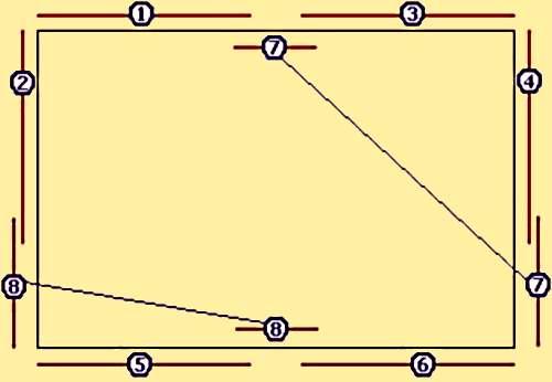 Как рассчитать количество потолочного плинтуса