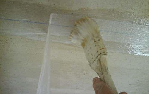 Как заделать трещину на потолке? Способ №3