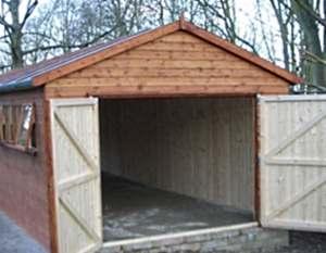 Как построить каркасный гараж своими руками?