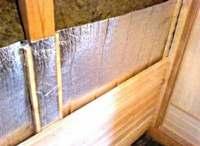 Как утеплить стены бани изнутри