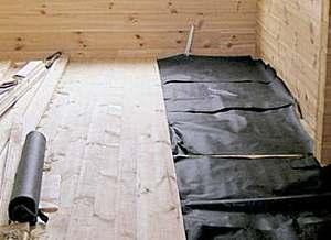 Как правильно утеплить пол в бане?