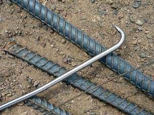 Крючок для вязки арматуры