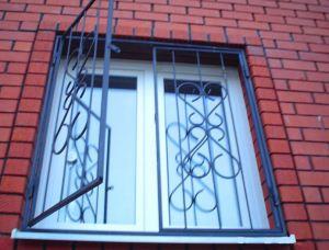 Решетки на окна своими руками.