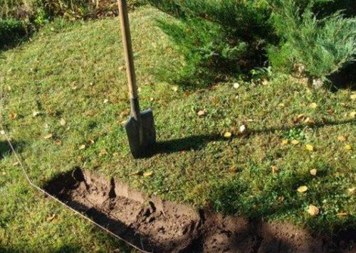 Подготовка почвы для рокария