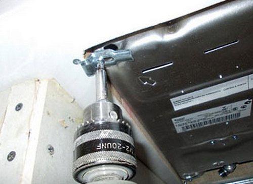 Установка газовой панели в столешницу своими руками видео
