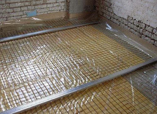 Как класть плитку на деревянный пол?
