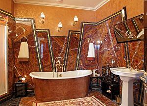 Чем отделать стены в ванной?