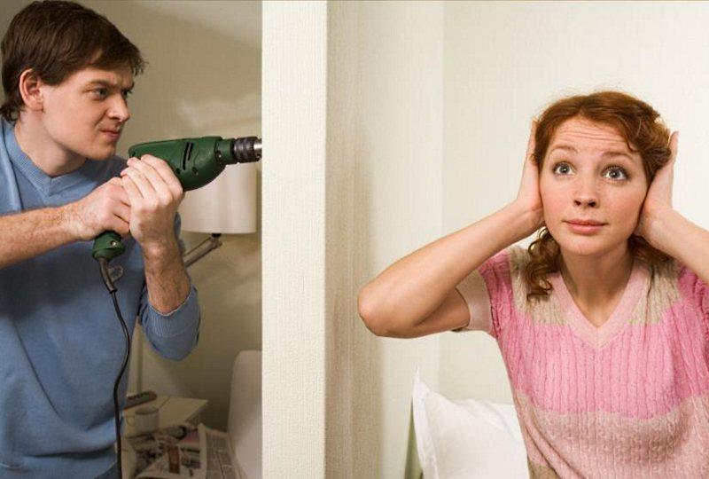 Как сделать шумоизоляцию стены от соседей?